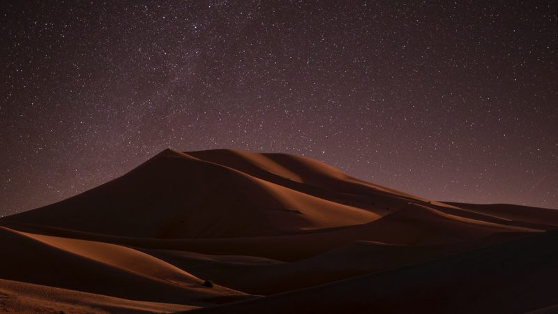desert du maroc en trek