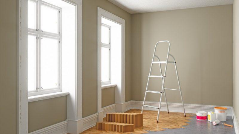 rénovation d'un logement avant de le vendre